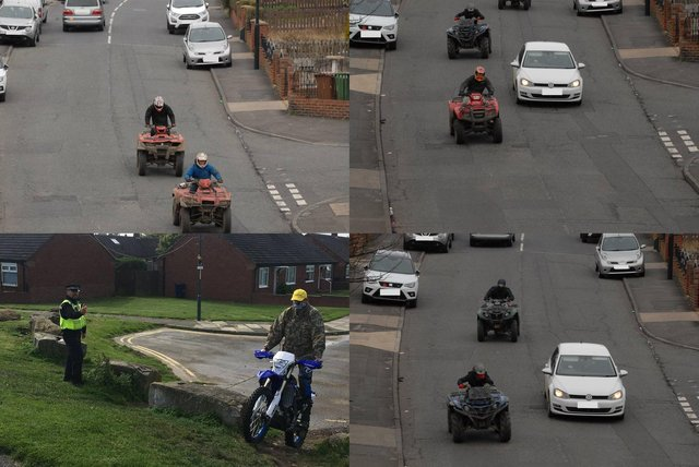 Northumbria Police is asking the public to help identify nuisance riders.