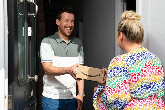 Chris and Rosie Ramsey followed the journey of a product from one of Amazon's small business sellers, from production right through to delivery. Photo by David Parry/PA Wire