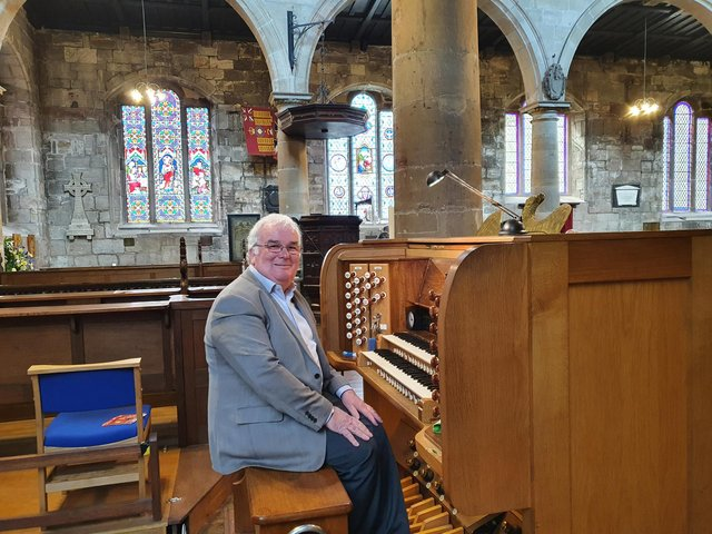 Organ recitals are starting up again at Holy Trinity Church in Berwick, and the public has been urged to go along.