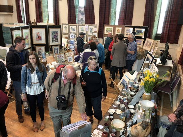 The Hindmarsh Hall during the last Alnmouth Arts Festival in 2019.
