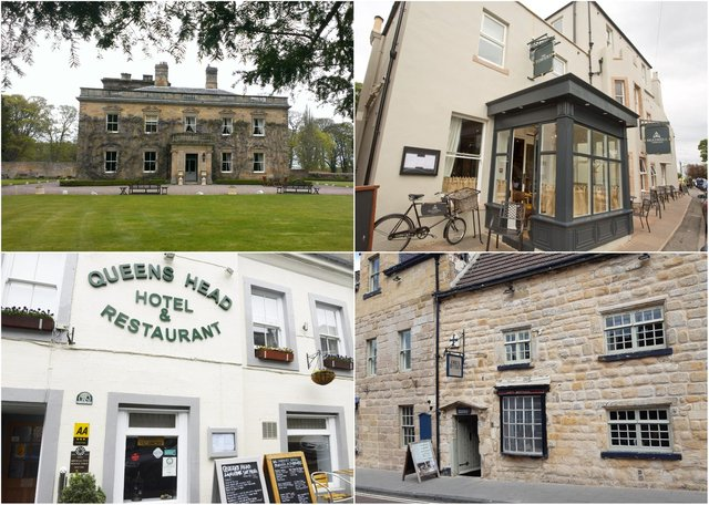 Northumberland hotels with a Travellers' Choice award from TripAdvisor.