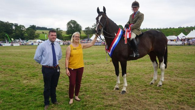 The Champion of Champions was awarded to Clive Storey for his Hunter.