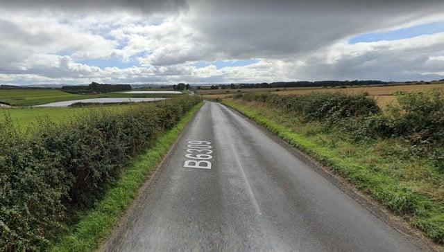 The B6309 between Stamfordham village and Whittle Dene Ponds. Picture: Google