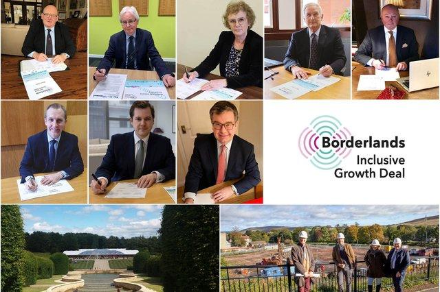 The Borderlands Inclusive Growth Deal has been signed.