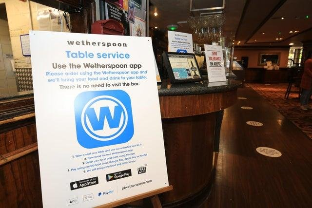 Wetherspoon is reopening almost 400 beer gardens and terraces next month