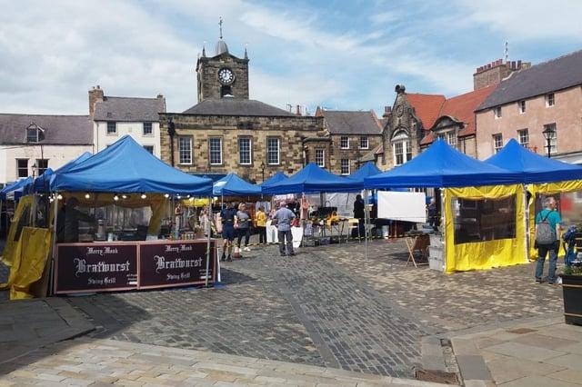 Alnwick Market.