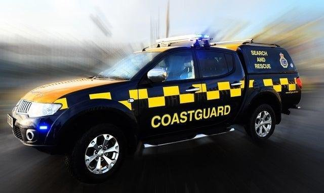 The coastguard were called to three separate incidents