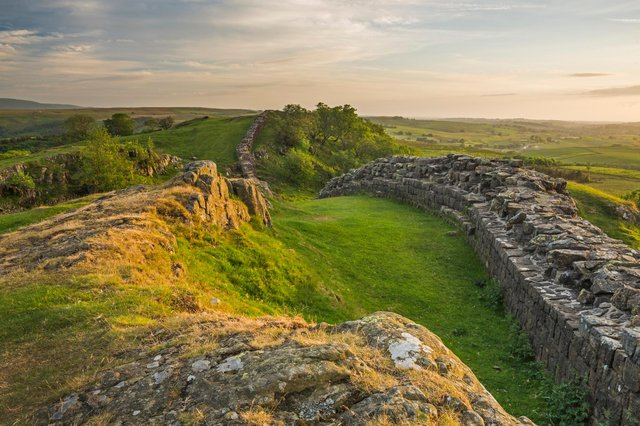 Walltown Crags, Hadrian's Wall. Picture by David Taylor.