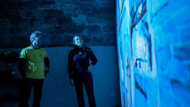 A new exhibition by Heinrich & Palmer can be seen at Lindisfarne Castle. Picture: Jonny Walton