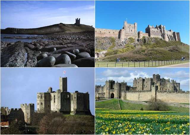 A list of the 15 best castles in Northumberland, according to Trip Advisor.