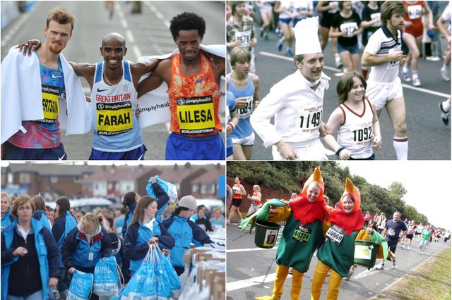 So many great memories but what are yours of the Great North Run?