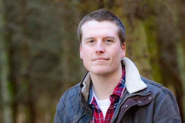 Ben Murphy, head distiller at Ad Gefrin.