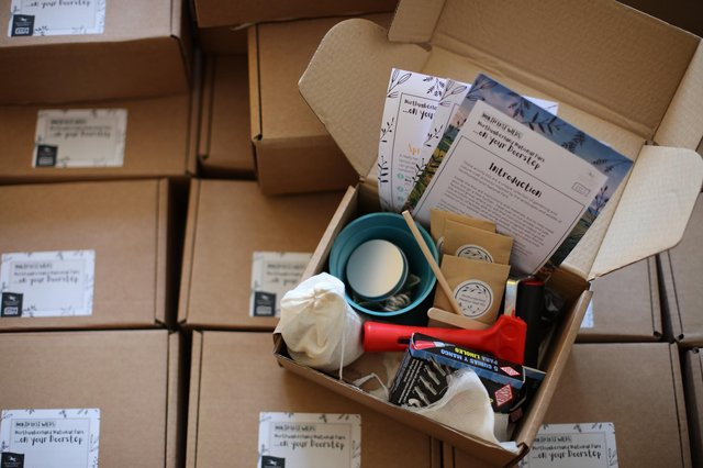 Activity boxes have been sent to disadvantaged young people in the North East.
