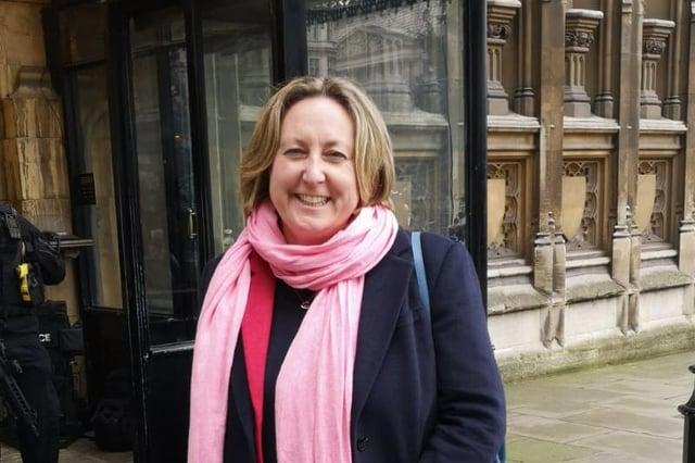 Berwick MP Anne-Marie Trevelyan.