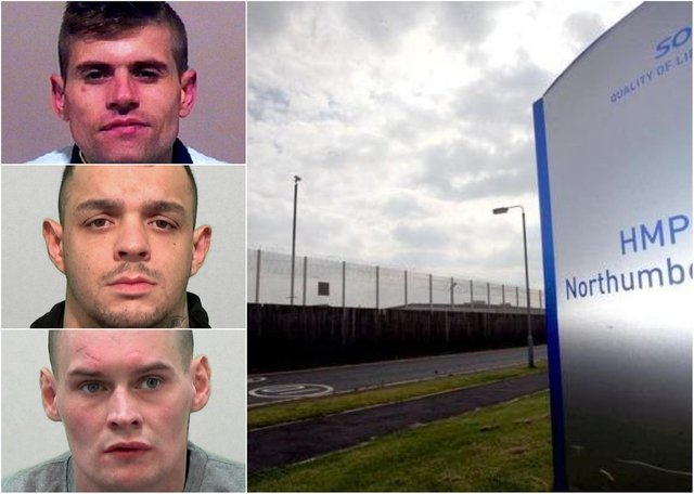 The victim suffered stab wounds and multiple fractured facial bones in the violence at HMP Northumberland on November 24, 2018