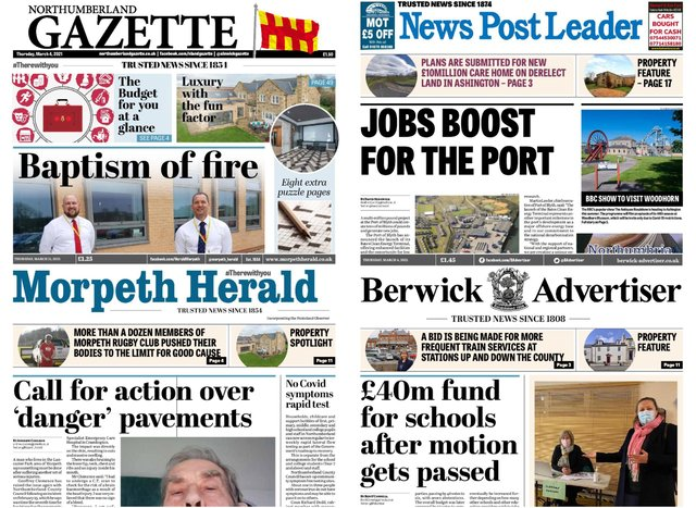 We are looking for a Deputy Editor for our weekly newspapers and websites across Northumberland.