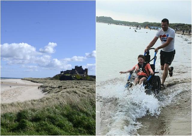 A beach wheelchair scheme is planned at Bamburgh.