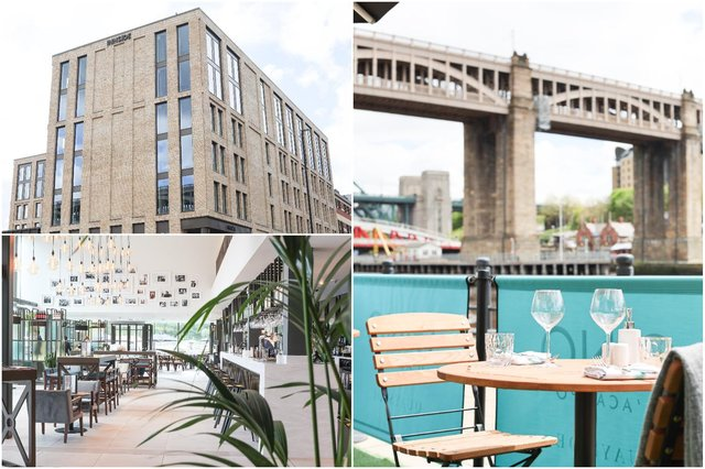 Win a staycation break at the newest addition to Newcastle Quayside
