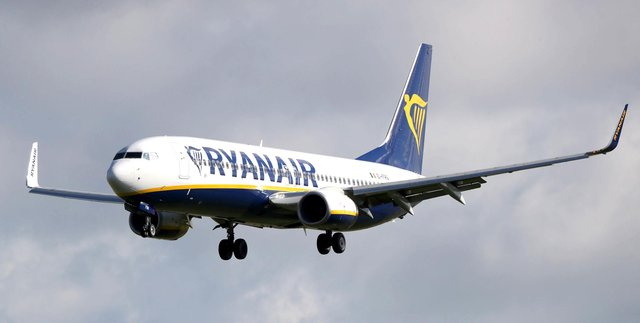 Ryanair. Picture by Niall Carson/PA Wire