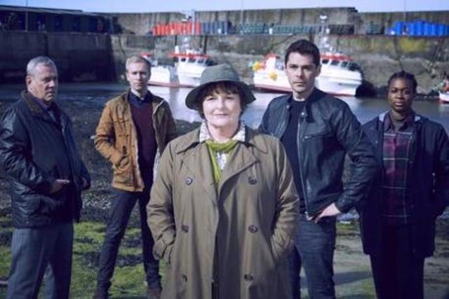 The cast of Vera. Picture: ITV/Silverprint