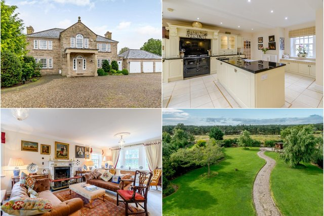 Stone Lodge at Burgham Park is on the market for £995,000.