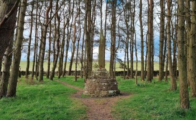 Percy's Cross, near Otterburn.