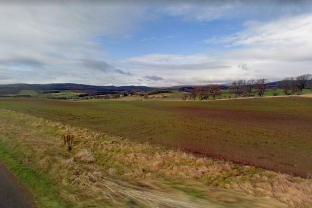 The view towards Sharperton.