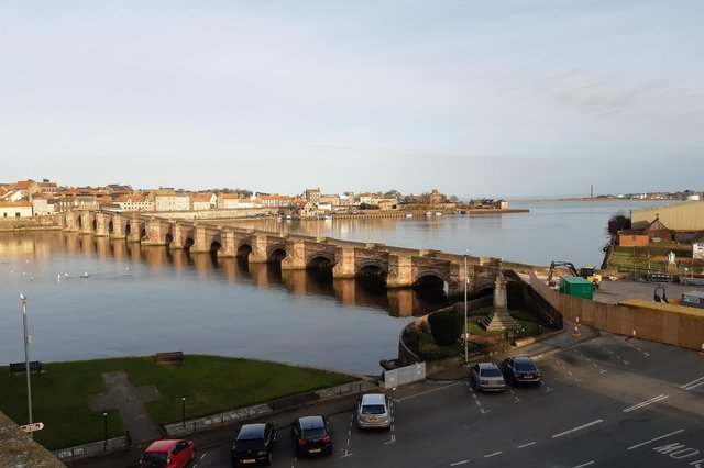 Berwick's Old Bridge.