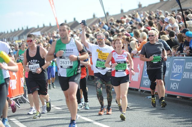 Runners at a previous GNR