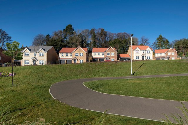 Taylor Wimpey North East's Willowburn Park development in Alnwick.