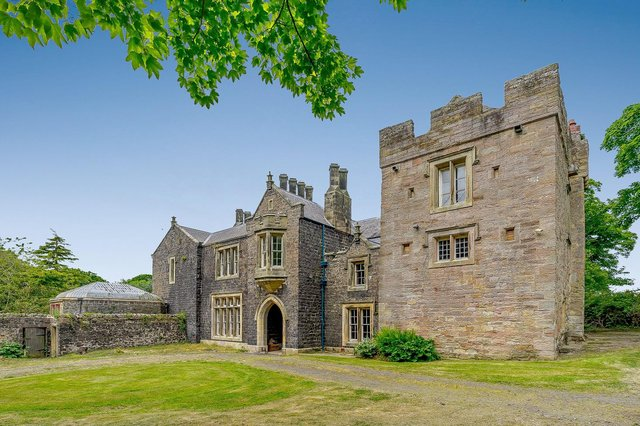 Embleton Tower is now on the market for £1.4million.