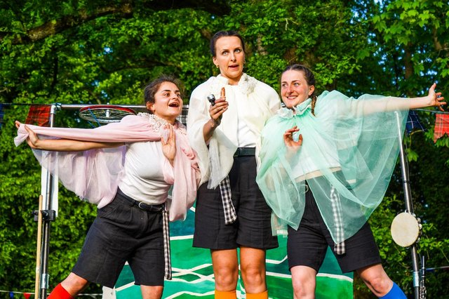 The Handlebards. Picture: Tom Dixon