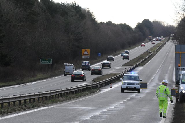 New measures are to be installed on the A189 Spine Road southbound on the approach to Moor Farm roundabout in a bid to cut the number of accidents.