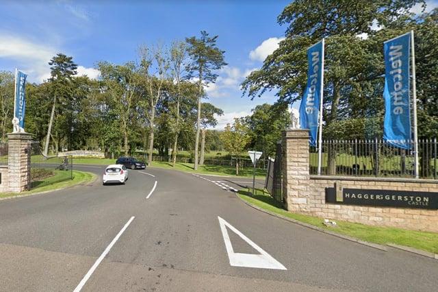 Haggerston Castle Holiday Park, near Berwick.