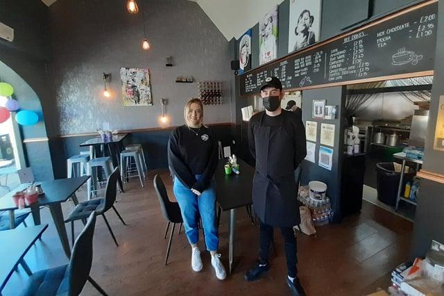 Lock, Stock, 'n' Burgers owner Robert Stott and his sister, Carly Stott.
