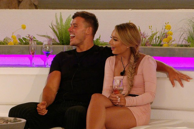 Brad and Lucinda. Picture courtesy of ITV2