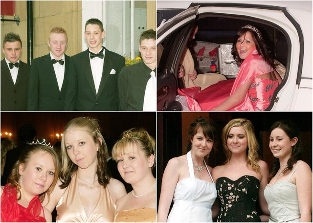 Coquet High School students at their 2007 prom.