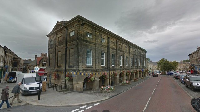 Northumberland Hall, Alnwick.