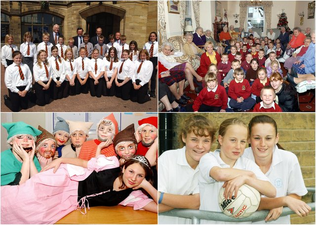 A selection of school pictures taken by the Northumberland Gazette in 2003.