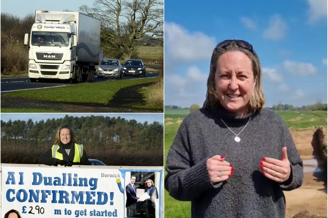 Ann-Marie Trevelyan MP is excited to see plans to upgrade the A1 being made.