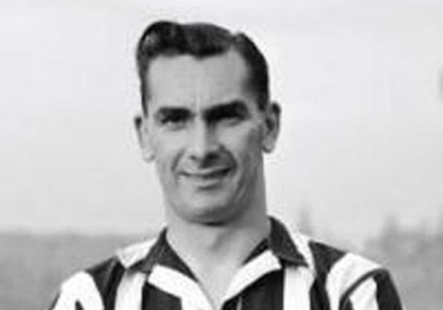 Ashington-born Newcastle United legend Jackie Milburn.
