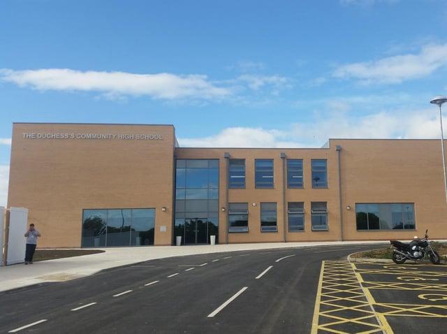 The Duchess's Community High School in Alnwick.