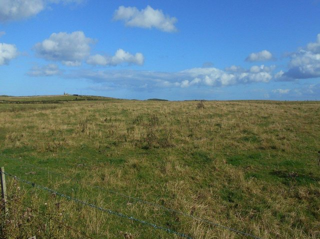The proposed site of the opencast mine.