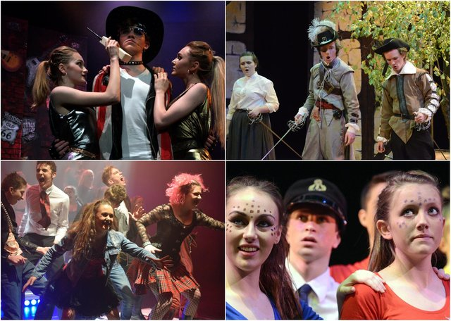 Pictures from some of the Duchess's Community High School productions from 2013 to 2018.