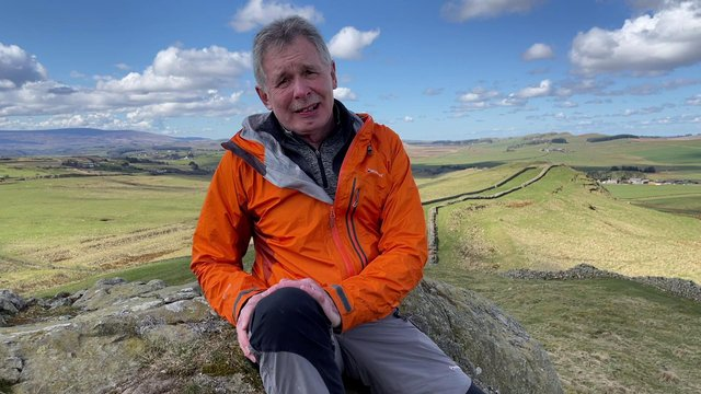 Geologist Ian Jackson.
