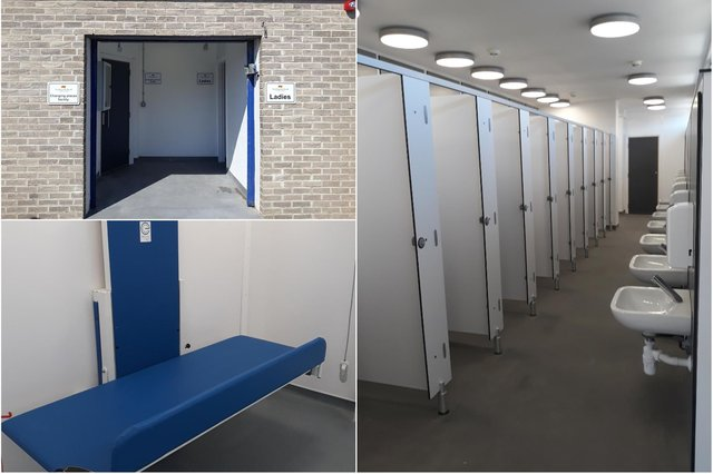 The public toilets in Seahouses have been refurbished, including the addition of a Changing Places unit.
