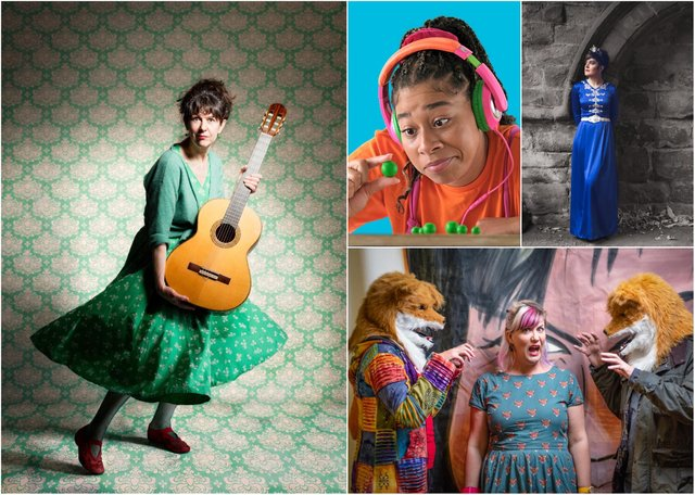 Performers lined up for the autumn season of Highlights Rural Touring Scheme.