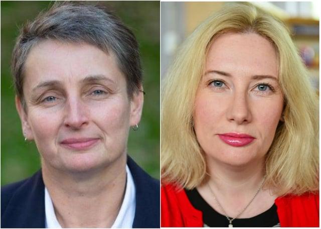 (l-r) Jarrow MP Kate Osborne and South Shields MP Emma Lewell-Buck