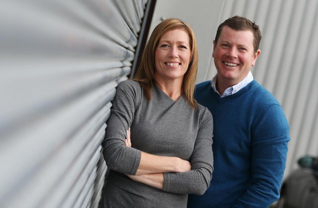 Cath and Matthew Stephenson, the owners of Sweetdreams Ltd who have accessed funding from the North of Tyne Growth Fund.