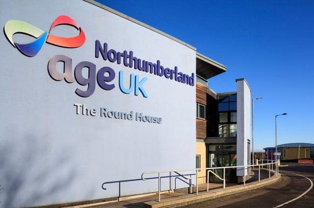 Age UK Northumberland's headquarters.